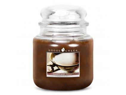 Goose Creek - Toasty Hot Toddy  Lumânare parfumată 450 g