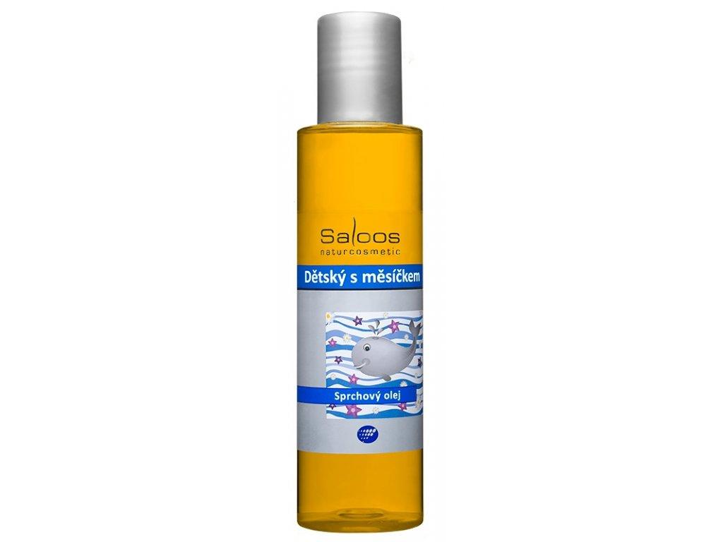 Saloos sprchový olej dětský s měsíčkem