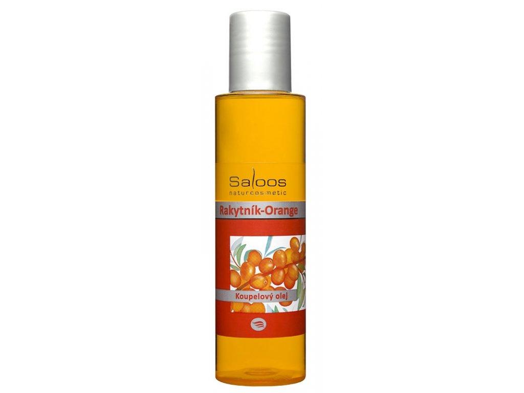 Saloos koupelový olej Rakytník Orange