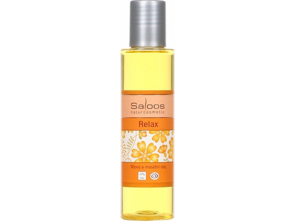 Saloos tělový a masážní olej Relax