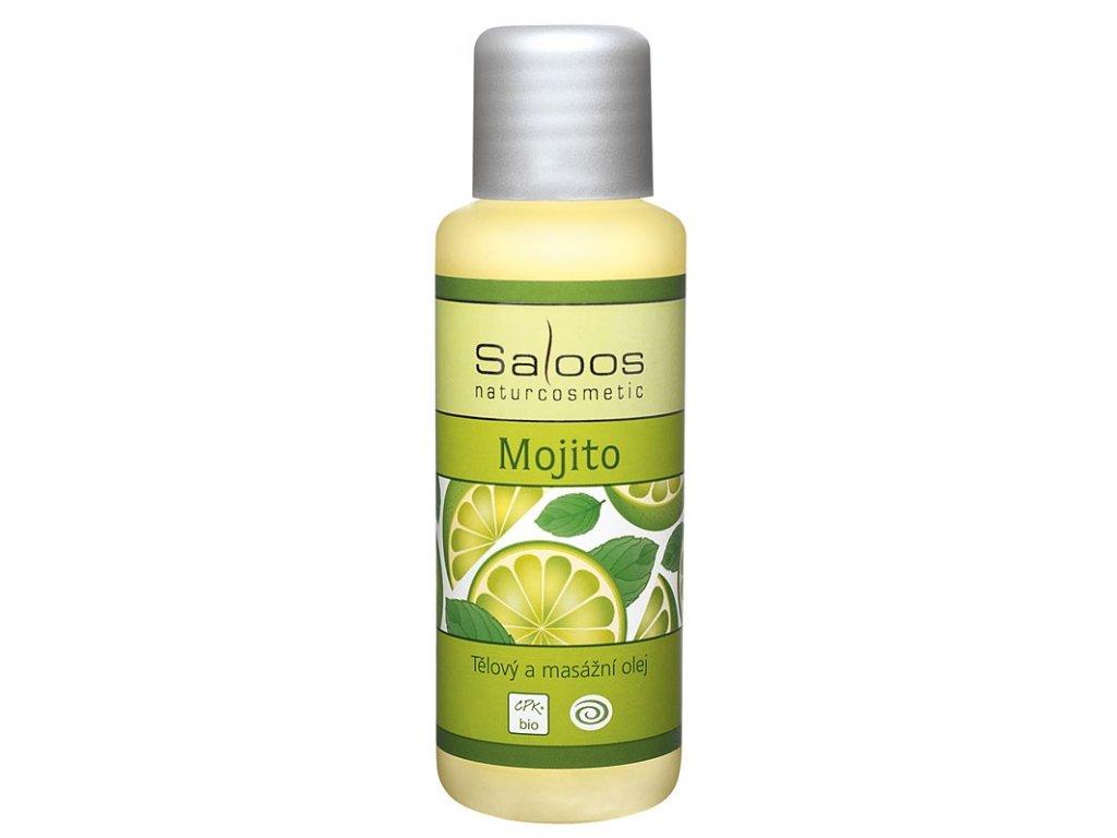 Saloos tělový a masážní olej Mojito