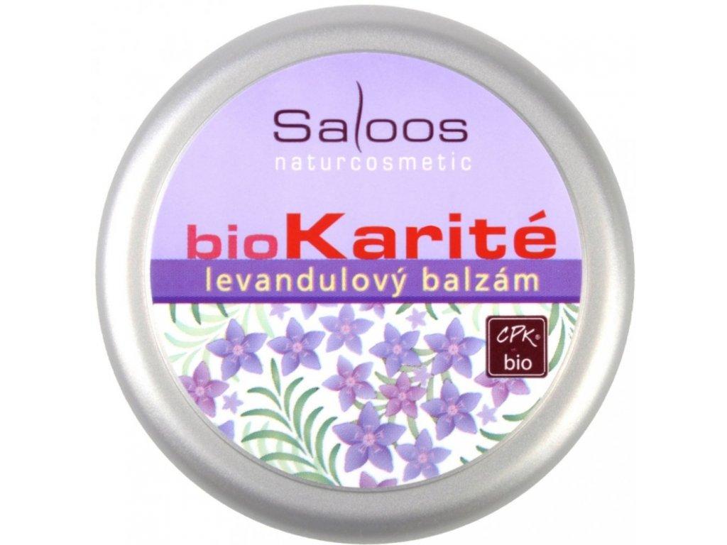 Saloos Bio Karité Levandulový bio balzám