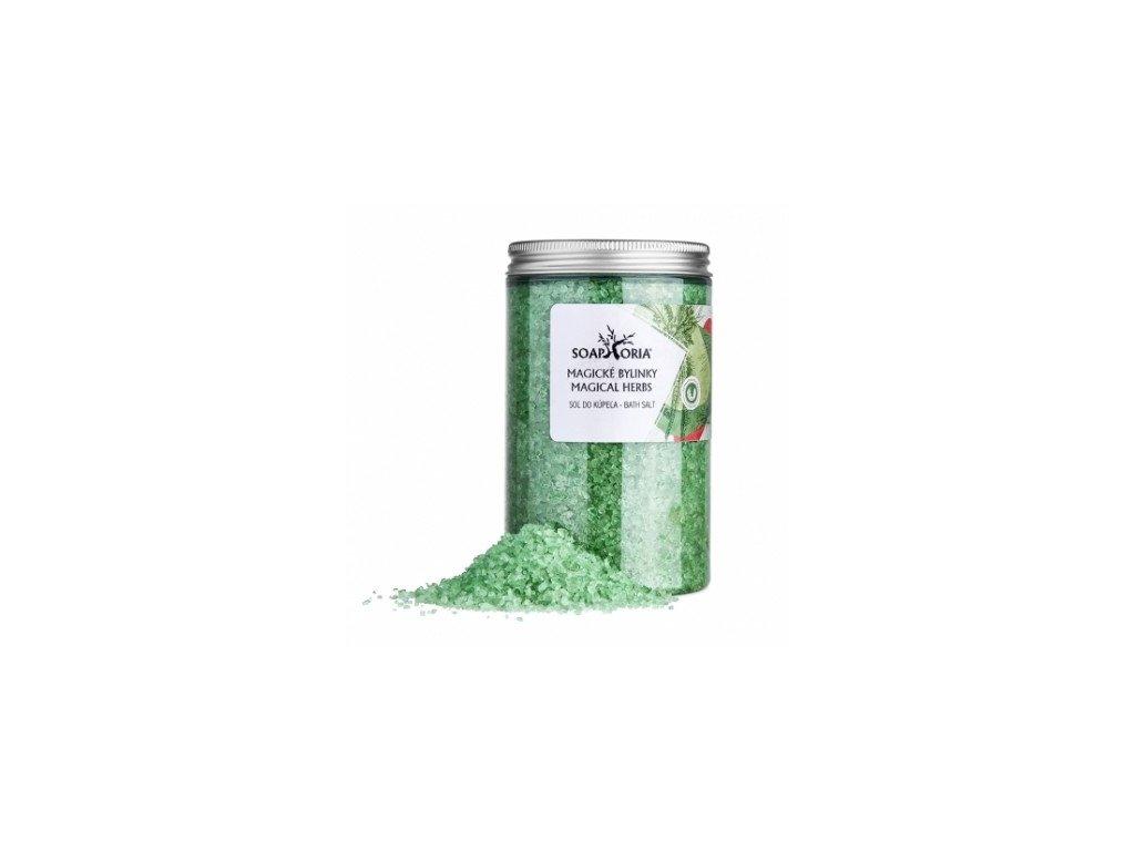 Soaphoria sůl do koupele magické bylinky 500g