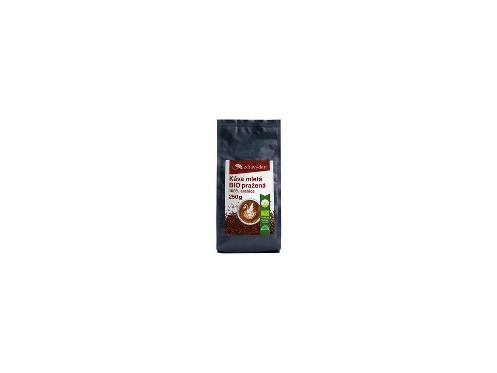 Zdravý den Káva mletá BIO pražená