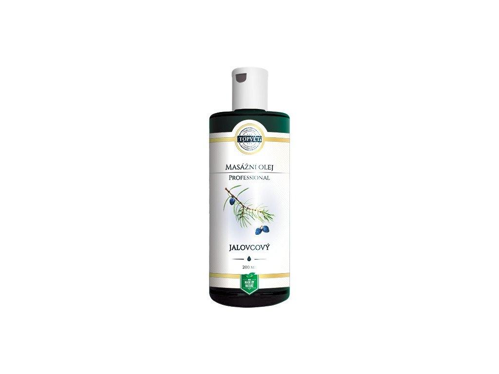 TOPVET masažní olej Jalovcový 200 ml