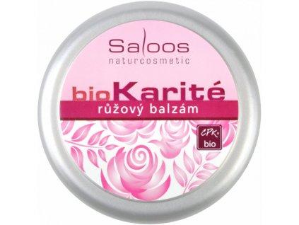Saloos Bio Karité Růžový bio balzám