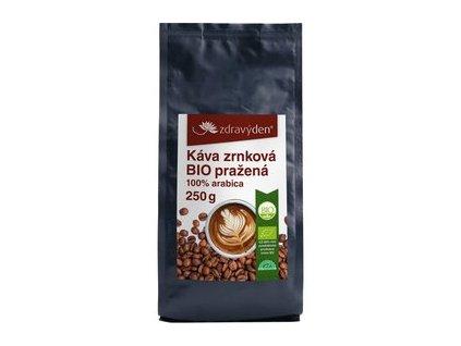Zdravý den Káva zrnková BIO pražená