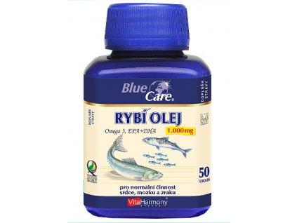 VitaHarmony Rybí olej Omega 3 1000 mg 50 tobolek