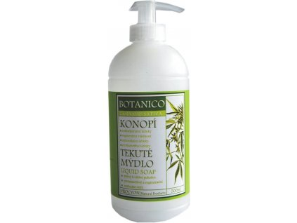 Botanico - Mýdlo tekuté s konopím - 500ml