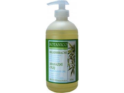 Botanico - Masážní olej - regenerační - 500ml