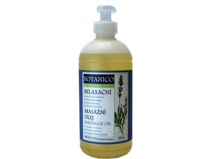Botanico relaxační olej s levandulí 500ml