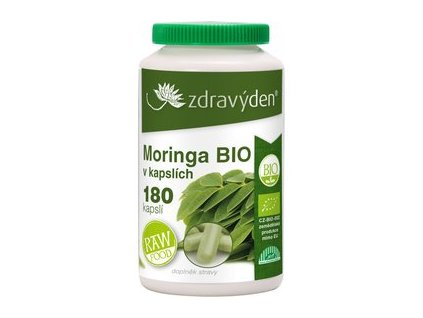 Zdravý den Moringa Bio 180 tablet