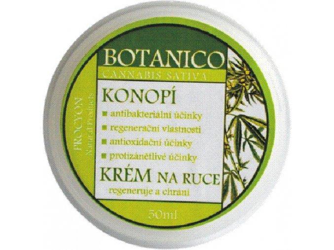 Botanico - Konopný vyživující krém na ruce - 50ml