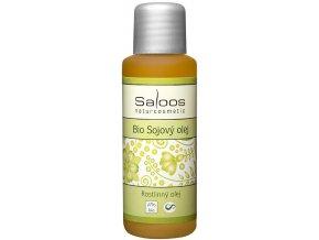 Saloos Bio sojový rostlinný olej lisovaný za studena