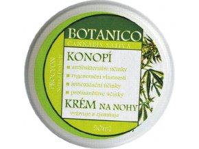 Botanico - Konopný vyživující krém na nohy - 50ml