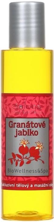 Saloos Bio Wellness Granátové jablko exkluzivní tělový a masážní olej varianta: přípravky 125 ml