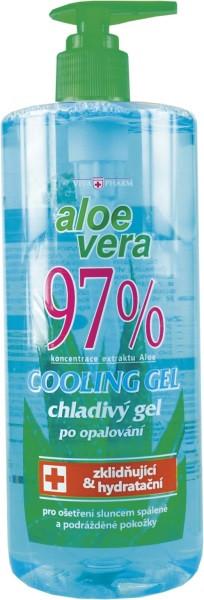 Vivaco Zklidňující gel s Aloe vera 97% varianta: 500ml