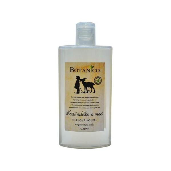Botanico - Olejová koupel s kozím mlékem a medem - 250 ml