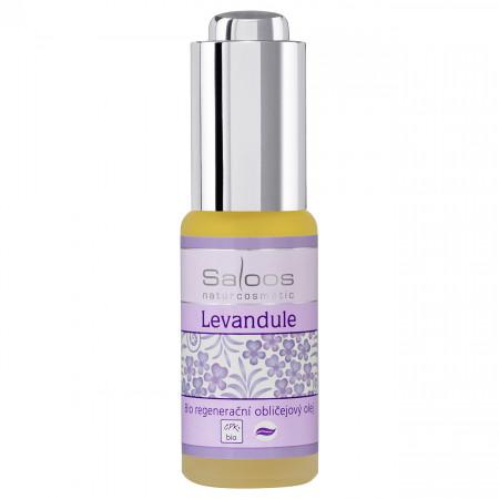 Saloos Levandule Regenerační obličejový olej 20 ml