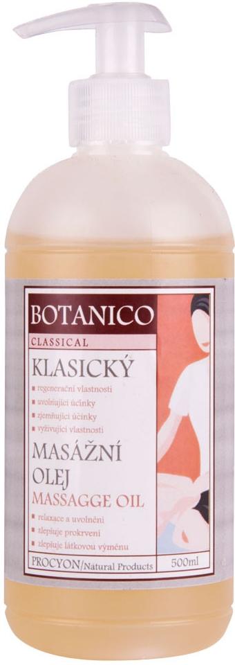 Procyon Botanico Klasický masážní olej 500 ml