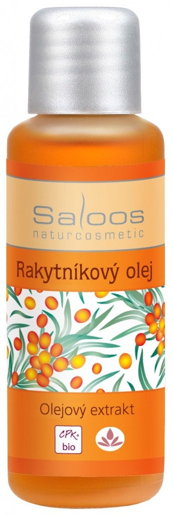 Saloos BIO Rakytníkový olej olejový extrakt varinata: 50ml