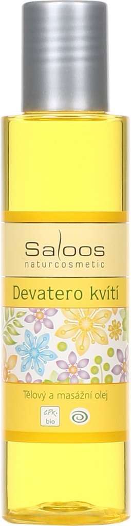 Saloos tělový a masážní olej Devatero kvítí varianta: přípravky 125 ml