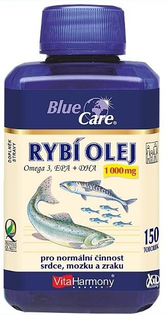 VitaHarmony Rybí olej Omega 3 1000 mg 150 tobolek