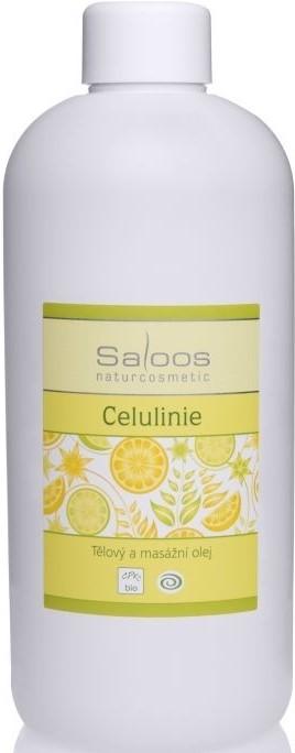 Saloos Celulinie tělový a masážní olej varianta: 500ml
