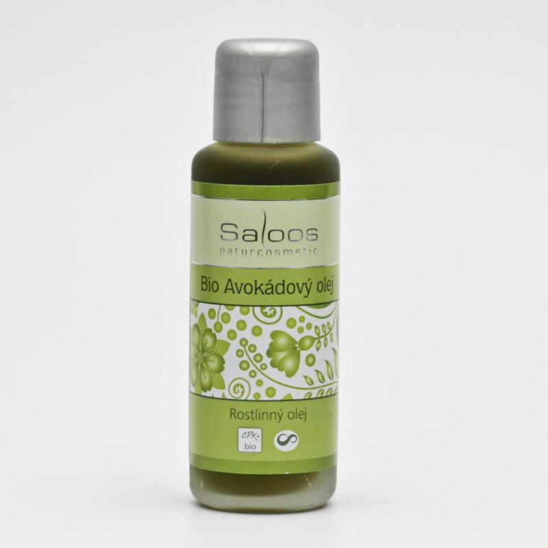 Saloos Bio Avokádový olej rostlinný lisovaný za studena varinata: 50ml