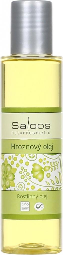Saloos Hroznový rostlinný rafinovaný olej varianta: přípravky 125 ml