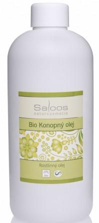 Saloos Konopný rostlinný olej lisovaný za studena varianta: 500ml