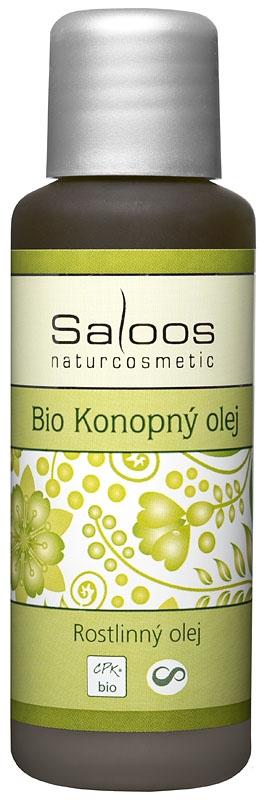 Saloos Konopný rostlinný olej lisovaný za studena varinata: 50ml
