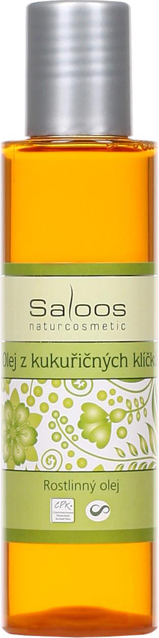 Saloos Olej z kukuřičných klíčků rostlinný olej lisovaný za studena varianta: 1000ml