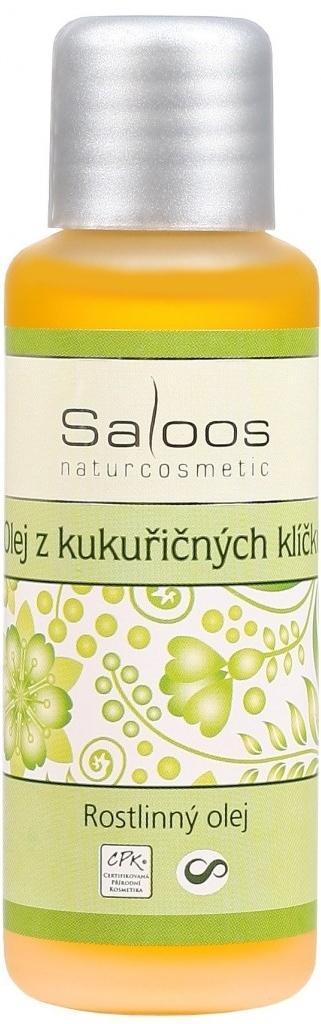 Saloos Olej z kukuřičných klíčků rostlinný olej lisovaný za studena varinata: 50ml