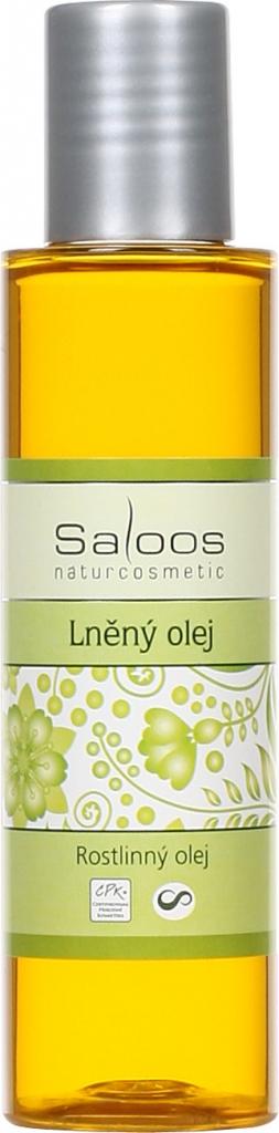Saloos Lněný olej lisovaný za studena varianta: přípravky 125 ml