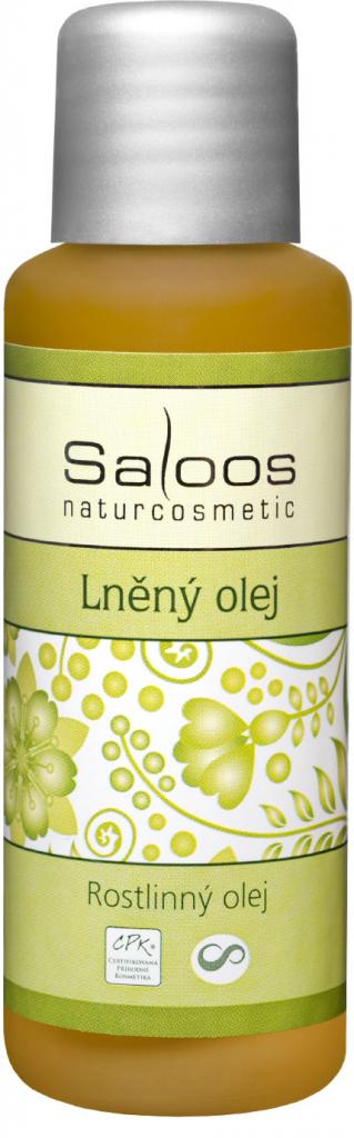 Saloos Lněný olej lisovaný za studena varinata: 50ml