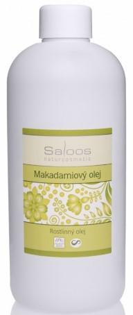 Saloos Makadamiový rostlinný olej lisovaný za studena varianta: 500ml