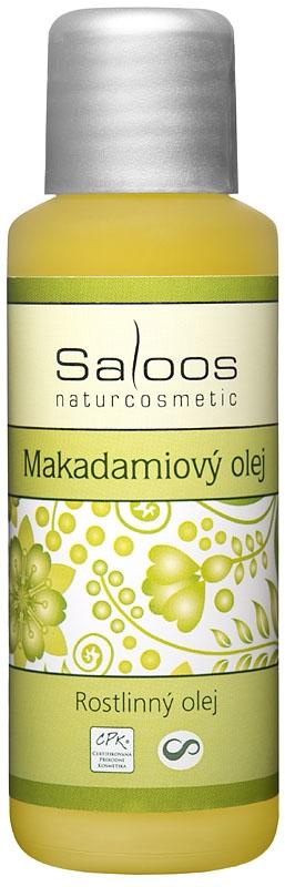 Saloos Makadamiový rostlinný olej lisovaný za studena varinata: 50ml