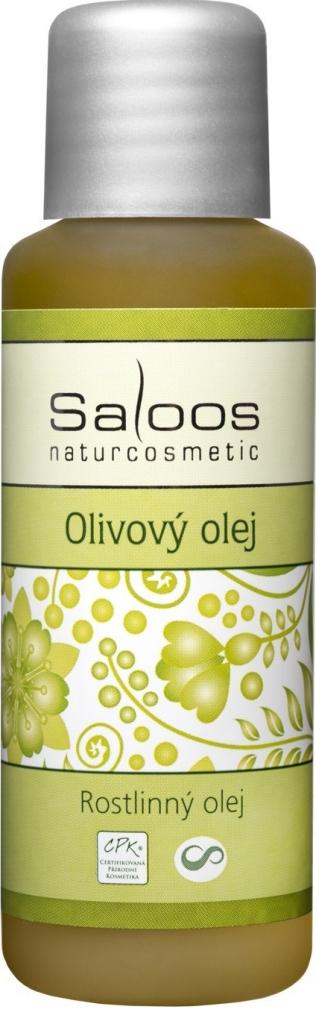 Saloos Olivový rostlinný olej lisovaný za studena varinata: 50ml
