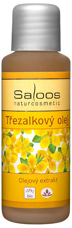 Saloos Třezalkový olej olejový extrakt varinata: 50ml