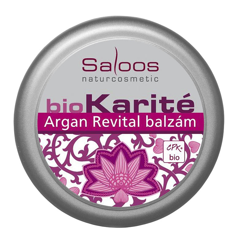Saloos Bio Karité balzám Argan Revital 19 ml