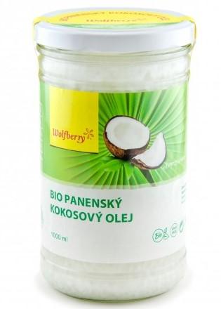 Wolfberry Panenský kokosový olej Bio 1000 ml