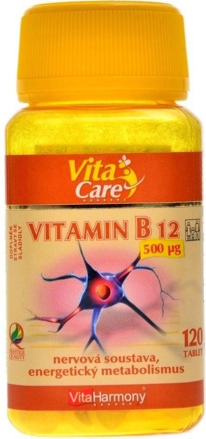 VitaHarmony Vitamín B12 120 tablet
