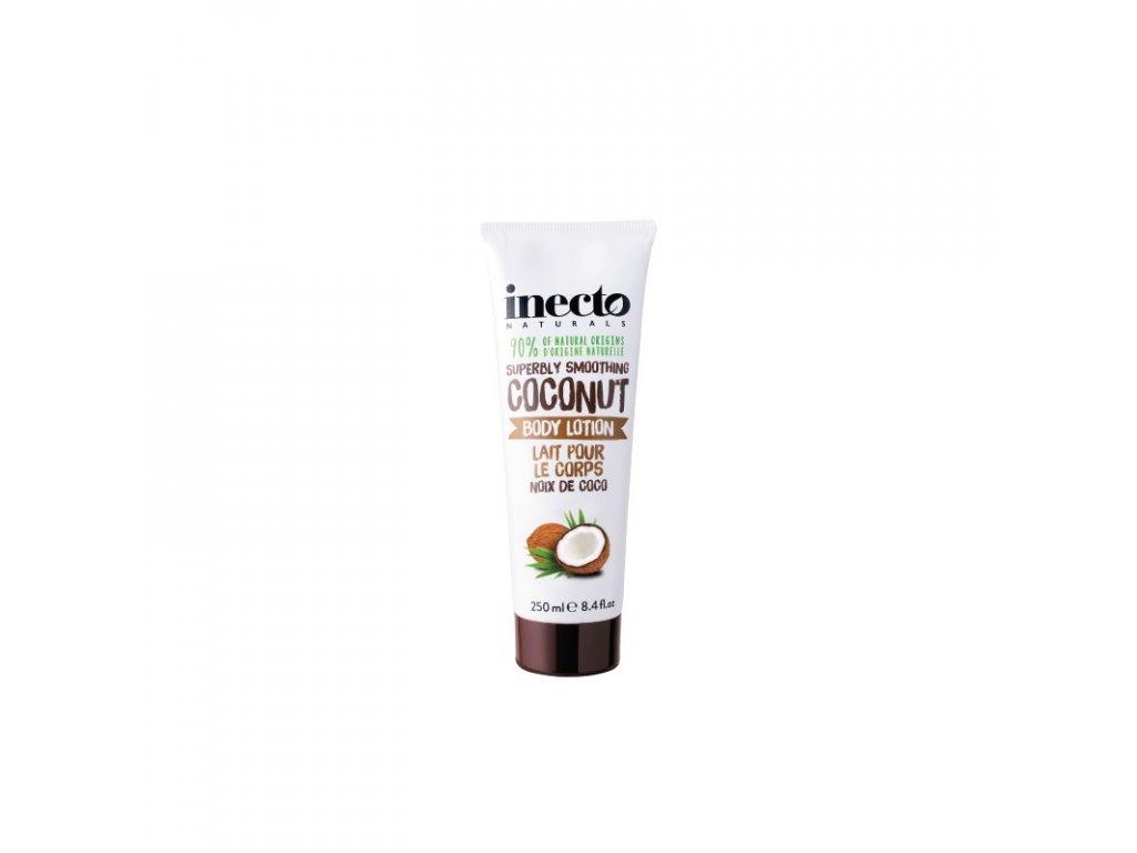 inecto telove mleko s cistym kokosovym olejem 250 ml