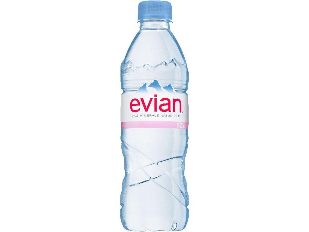 Evian přírodní minerální voda nesycená 0,5l