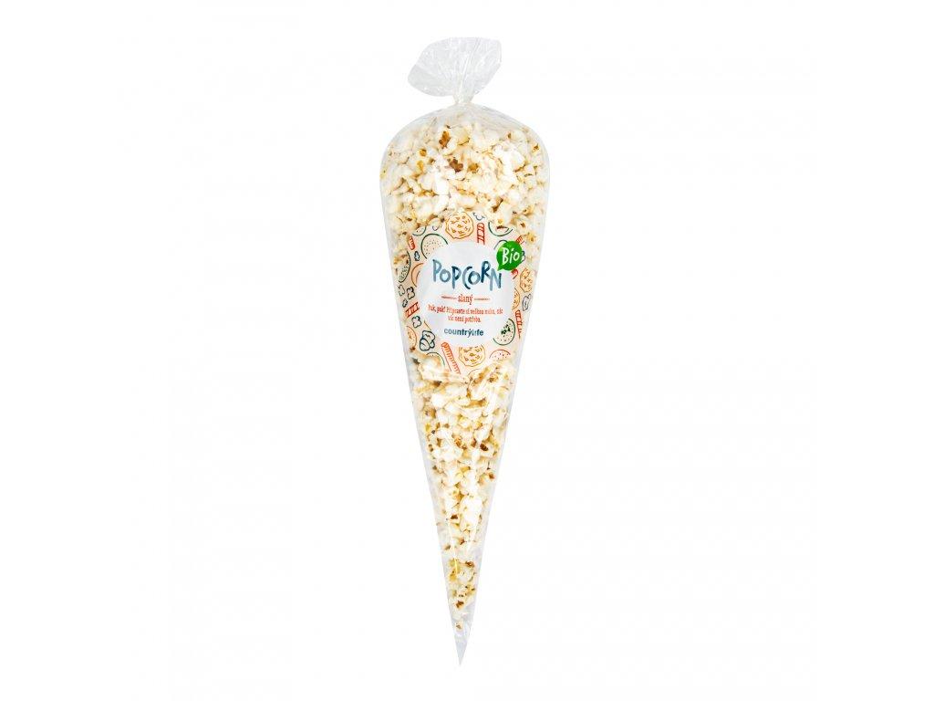 Popcorn slaný 50 g BIO COUNTRY LIFE