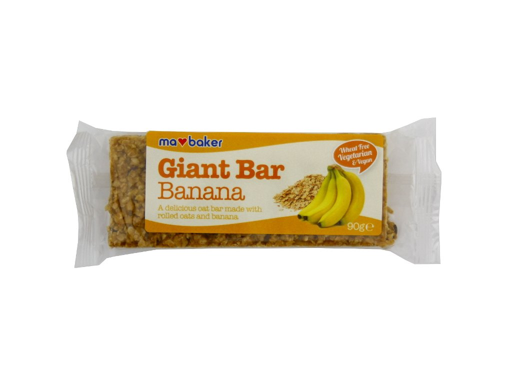 Giant Bar banán 90g Ma Baker