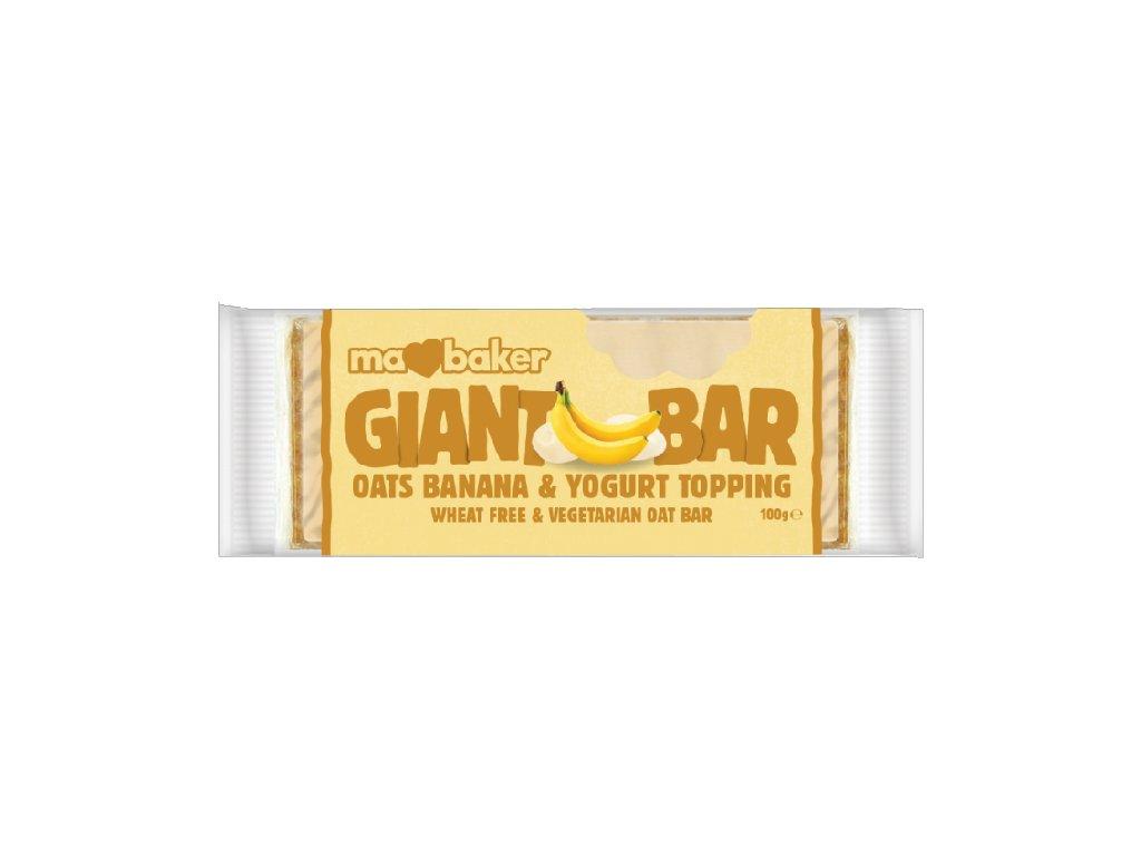 Giant Bar jogurt, banán 110g Ma Baker