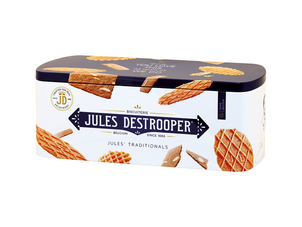 Jules Destrooper PROMO Jules Traditional Curved Tin