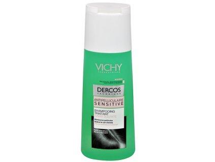 Bezsulfátový šampon proti lupům pro citlivou pokožku Dercos (Anti-Dandruff Sensitive Treatment Shampoo) 200 ml
